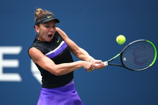 Halep thrilled to end US Open first-round win drought