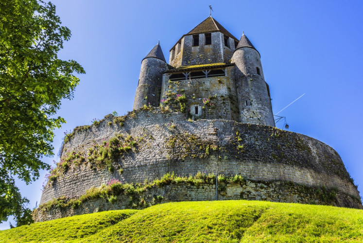 César tower is a landmark and emblem of Provins.