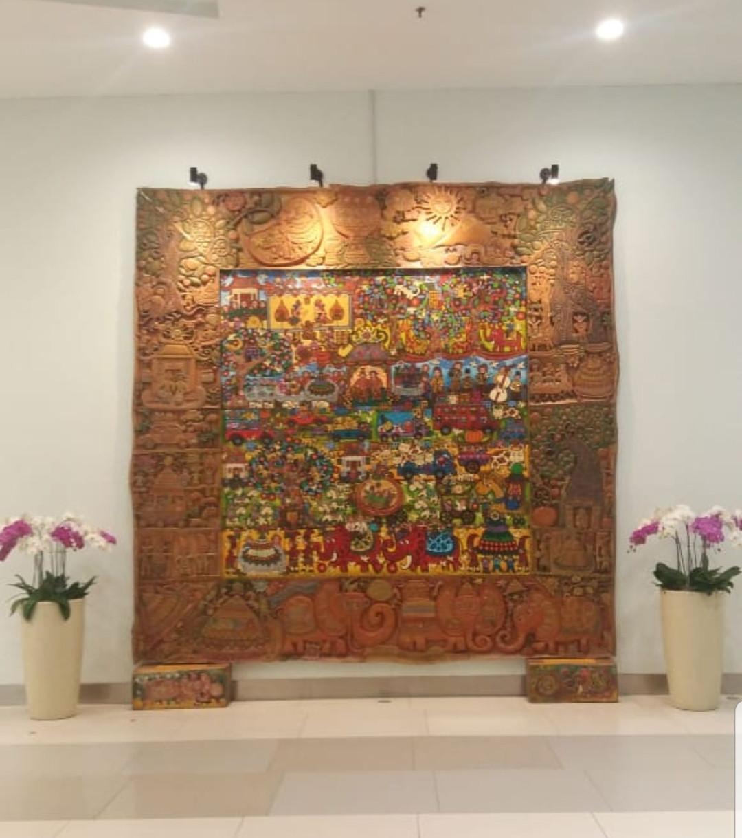 Erica Hestu Wahyuni's artworks grace Soekarno-Hatta's Terminal 3