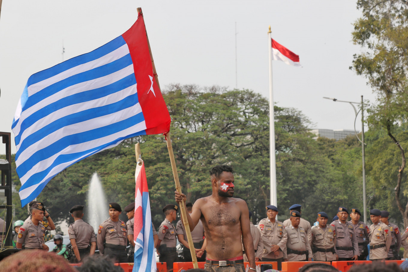 Papuan pro-referendum leader Benny Wenda awaits talks with Jokowi