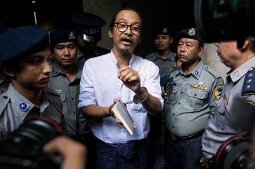 Myanmar filmmaker jailed for one year after criticising military
