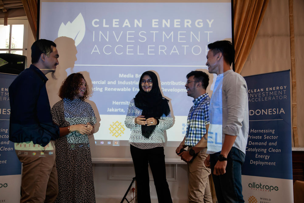 CEIA encourages government to accelerate clean energy campaign