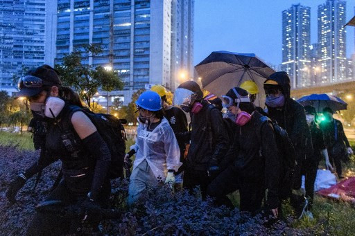 Love in a time of tear gas: Politics and romance on Hong Kong's barricades