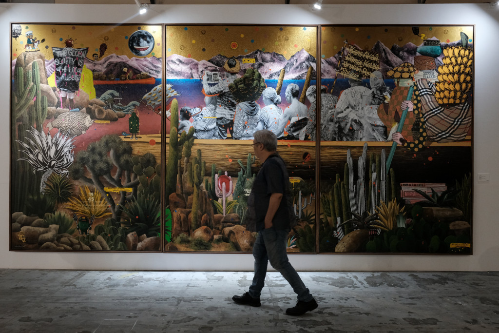 Art Jakarta 2019 displays gigantic artworks, offers more programs