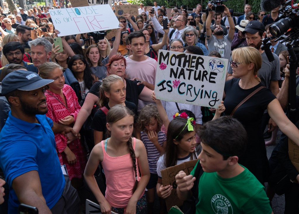 Millions of young people, led by Sweden's Thunberg, to strike for climate action
