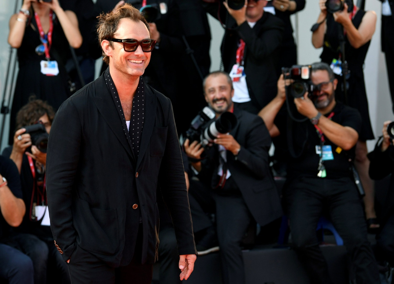 Jude Law brings papal drama follow-up to Venice