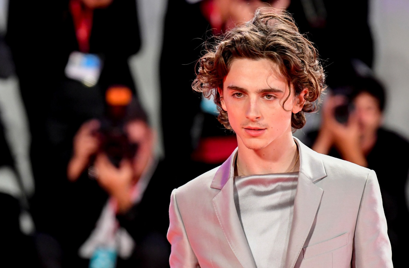 Timothee Chalamet dons armor for medieval coming-of-age tale 'The King'