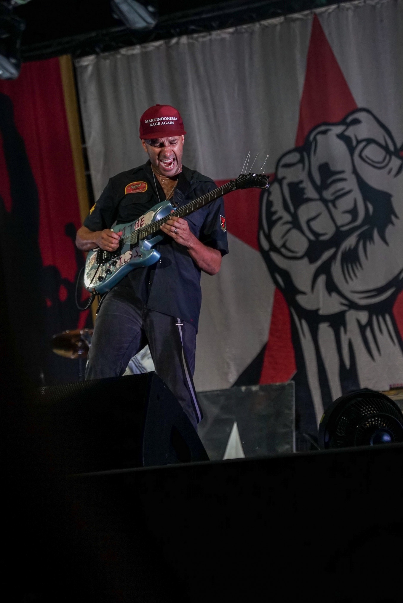 What makes guitarist Tom Morello rage against the machine today