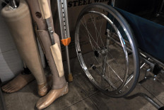 Various other mobility equipment is also available for physically impaired people. JP/Magnus Hendratmo