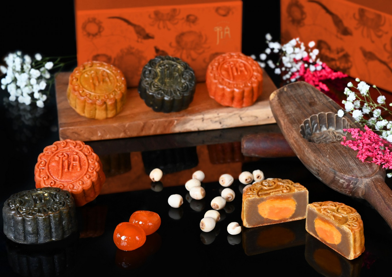 From red velvet with tiramisu to Earl Grey chocolate tea-infused, mooncake season is back in Jakarta