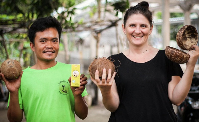 Coconesia to help rebuild North Lombok community with tree adoption program