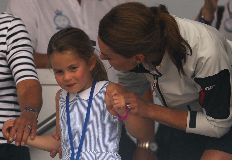 Britain's Princess Charlotte, 4, starts school