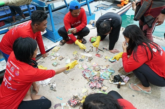 Young minds from across Indonesia gather for Jakarta summit to tackle waste problem