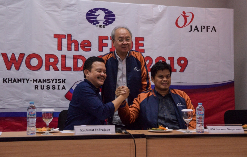 Indonesian Grandmaster Susanto aims to make impossible possible at chess World Cup