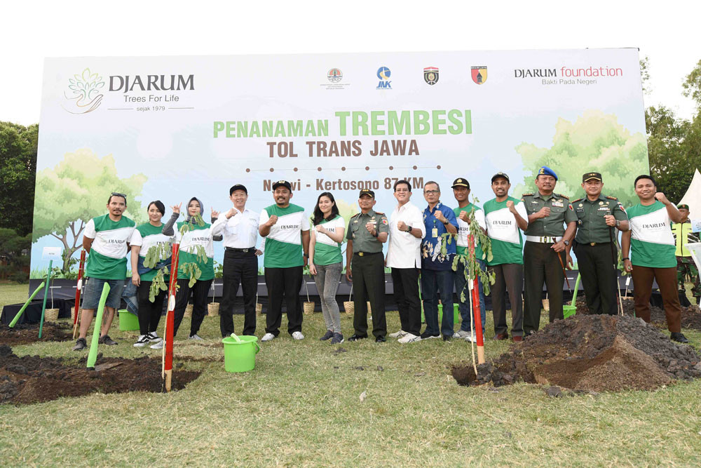 Djarum Foundation continues to plant trees to mitigate global warming