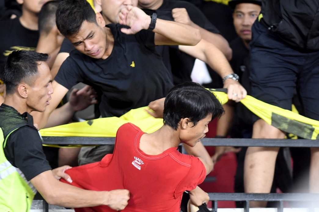 Indonesia slapped with FIFA fine over match crowd trouble