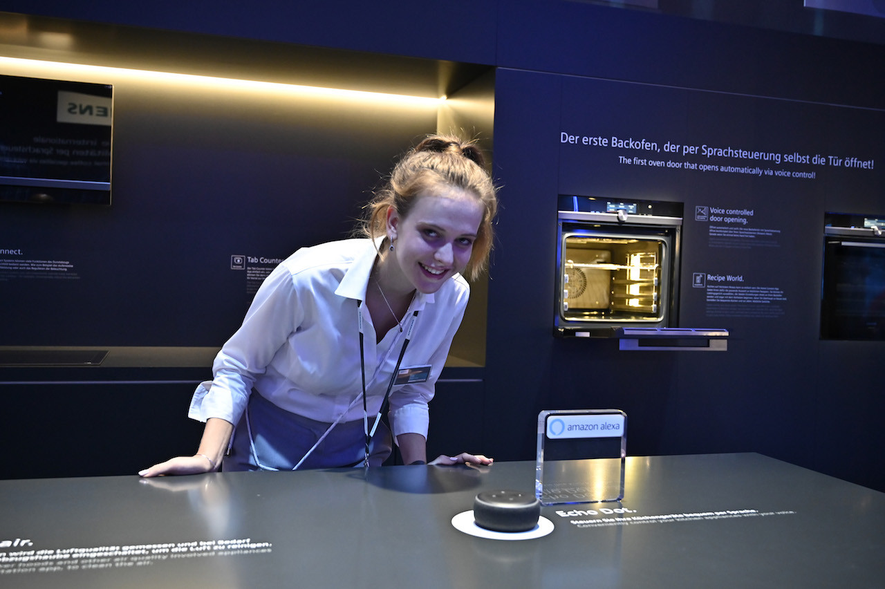 Voice-command ovens, robots for pets on show at Berlin's IFA tech fair