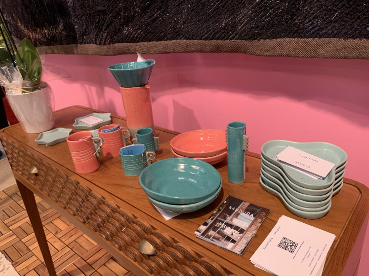 Kandura Studio's coffee-inspired tableware collection.