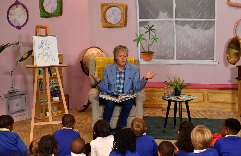 Macca turns magical Grandude with children's book