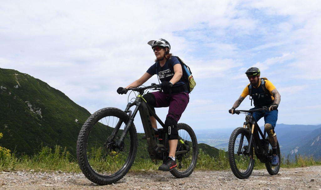 E-bike grumbles echo in the Bavarian Alps