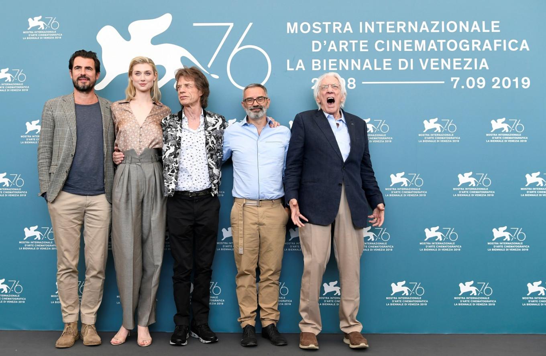 Mick Jagger swaps stage for set in art thriller 'The Burnt Orange Heresy'