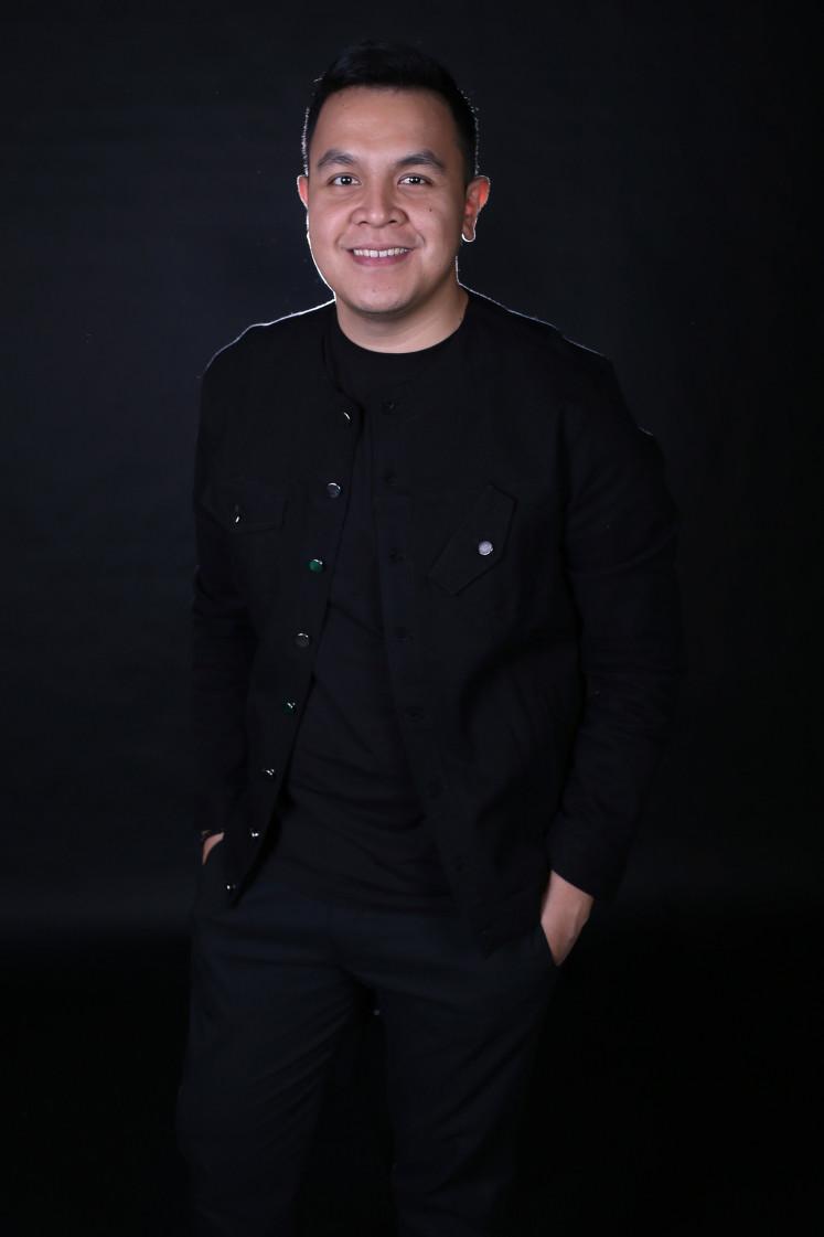 Indonesian singer Tulus.