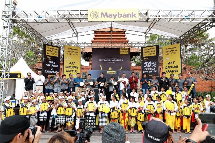 Bali marathon shows Maybank's unique approach to CSR