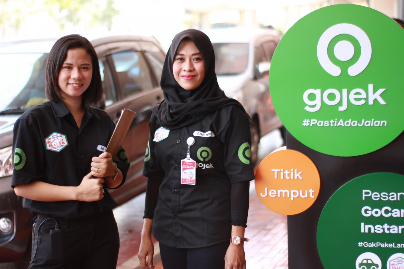 Soekarno-Hatta airport embraces online ride-hailing after years of resistance
