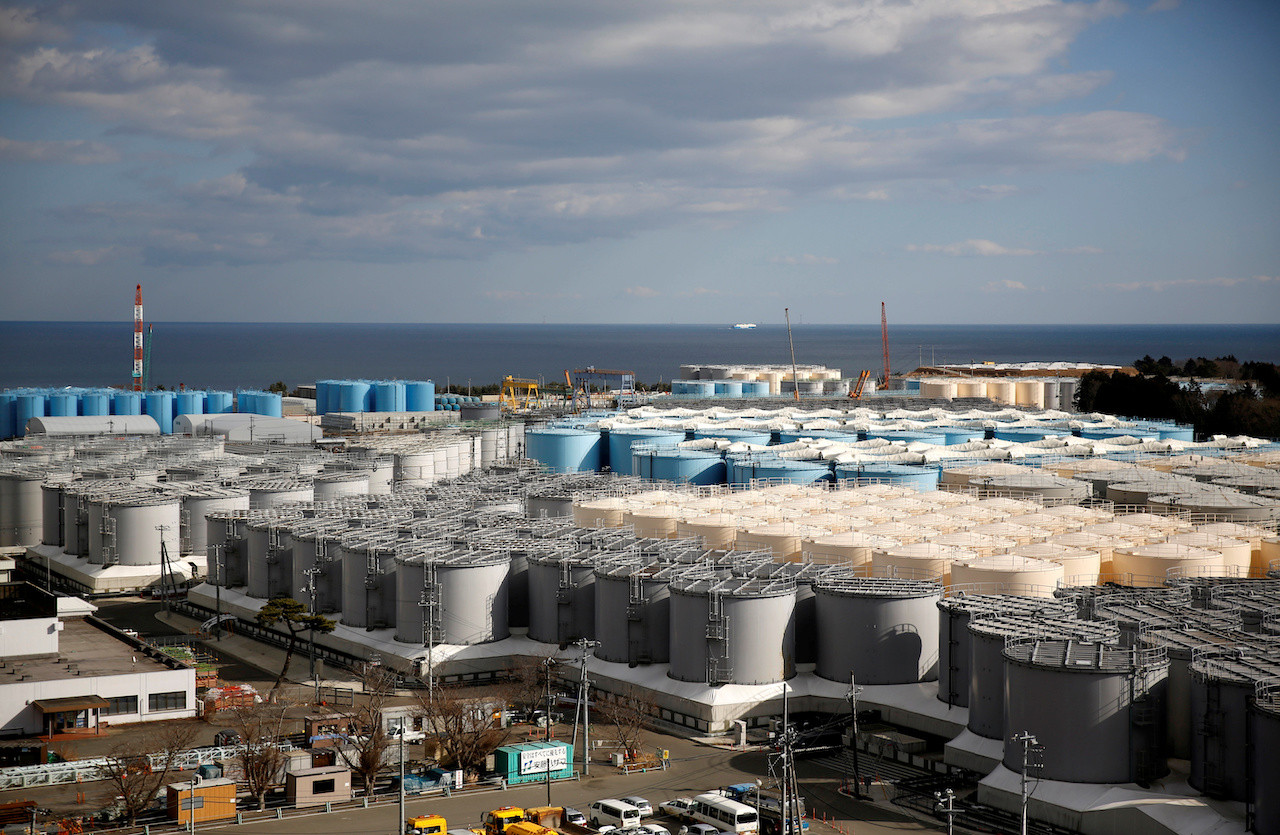 Japan decides to release Fukushima plant water into sea
