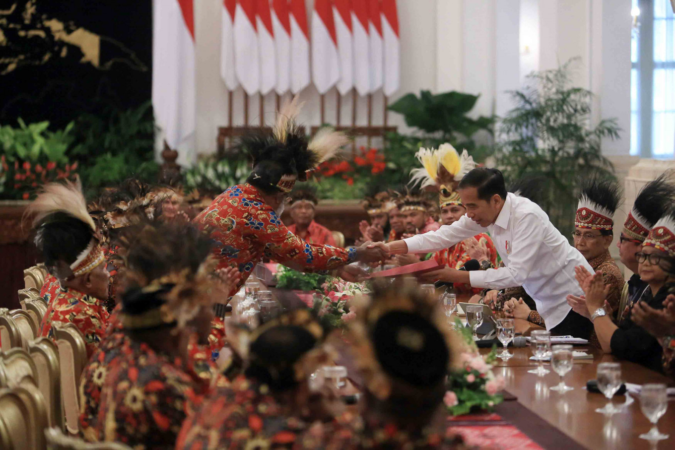 Jokowi's meeting with Papuan delegation 'misses the point'
