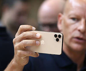 Apple reveals triple-camera iPhone; $5 monthly TV streaming service