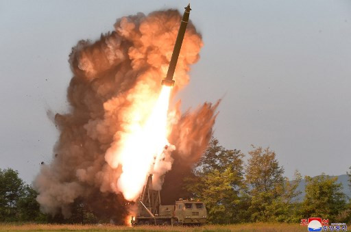 North Korea fires two 'ballistic missiles' into sea: Seoul