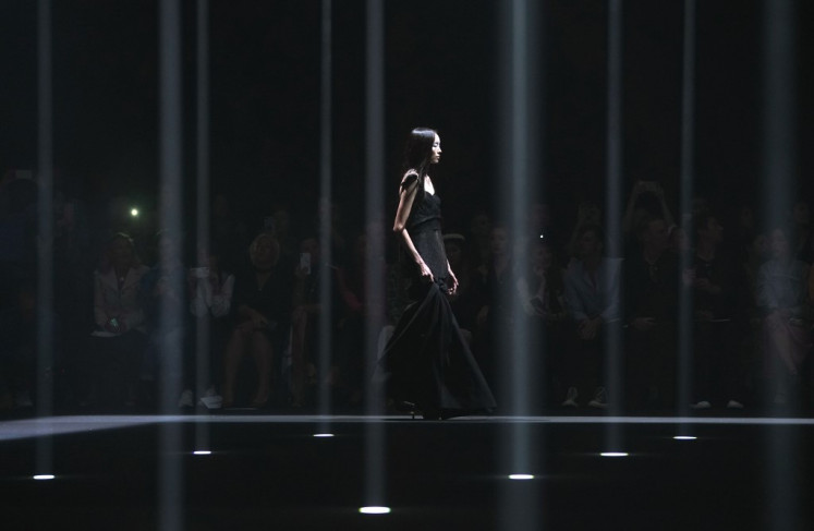 Models walk the runway at the Vera Wang Collection Spring Summer 2020 Show during New York Fashion Week on September 10, 2019, in New York City.