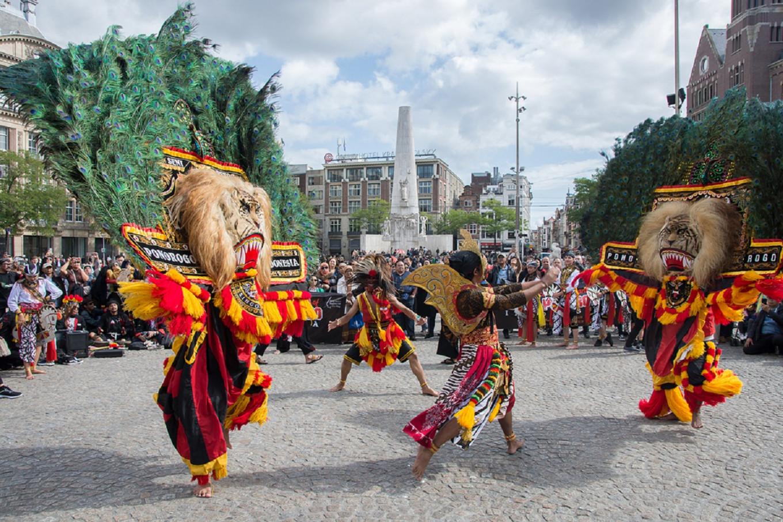 Reog Ponorogo enlivens The Hague