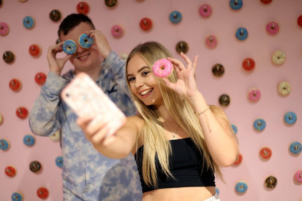 London selfie shop lets Instagram generation strike a pose
