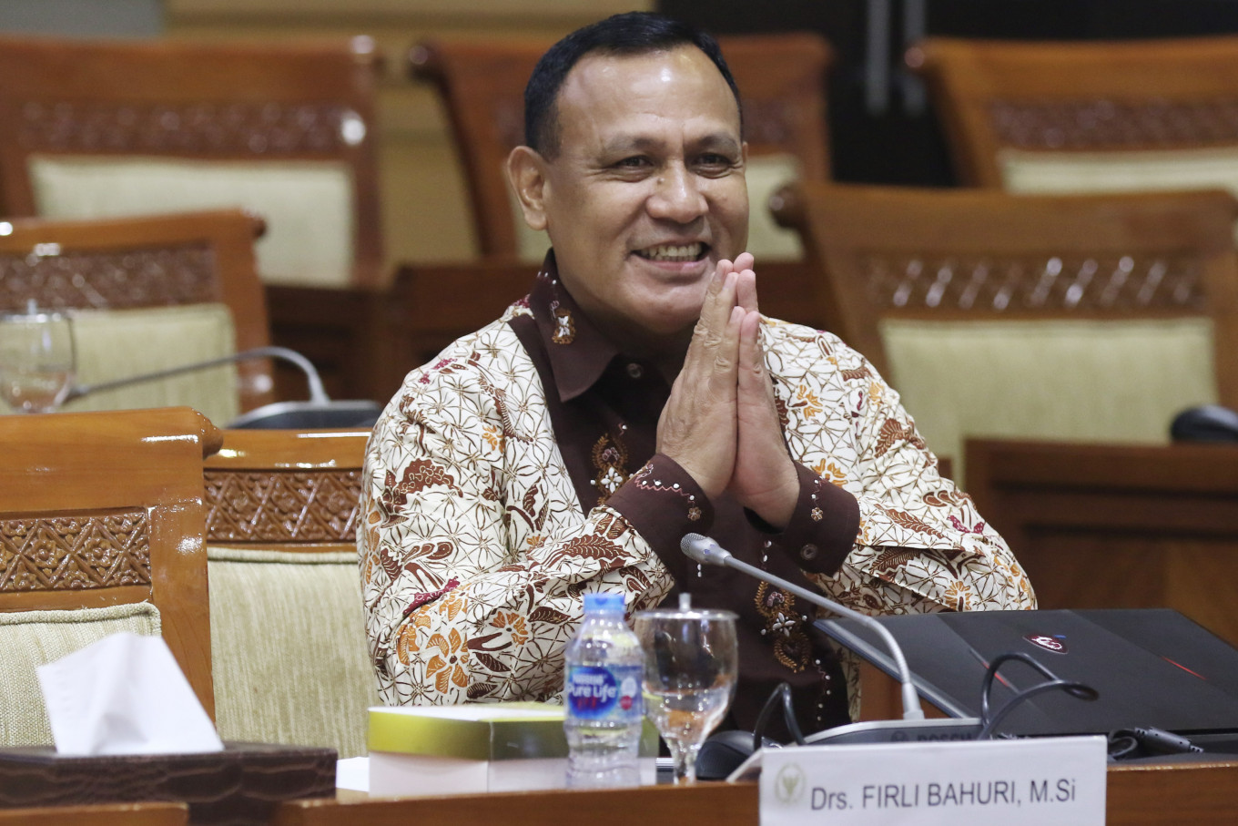 Antigraft group reports KPK leader for 'hedonistic lifestyle'
