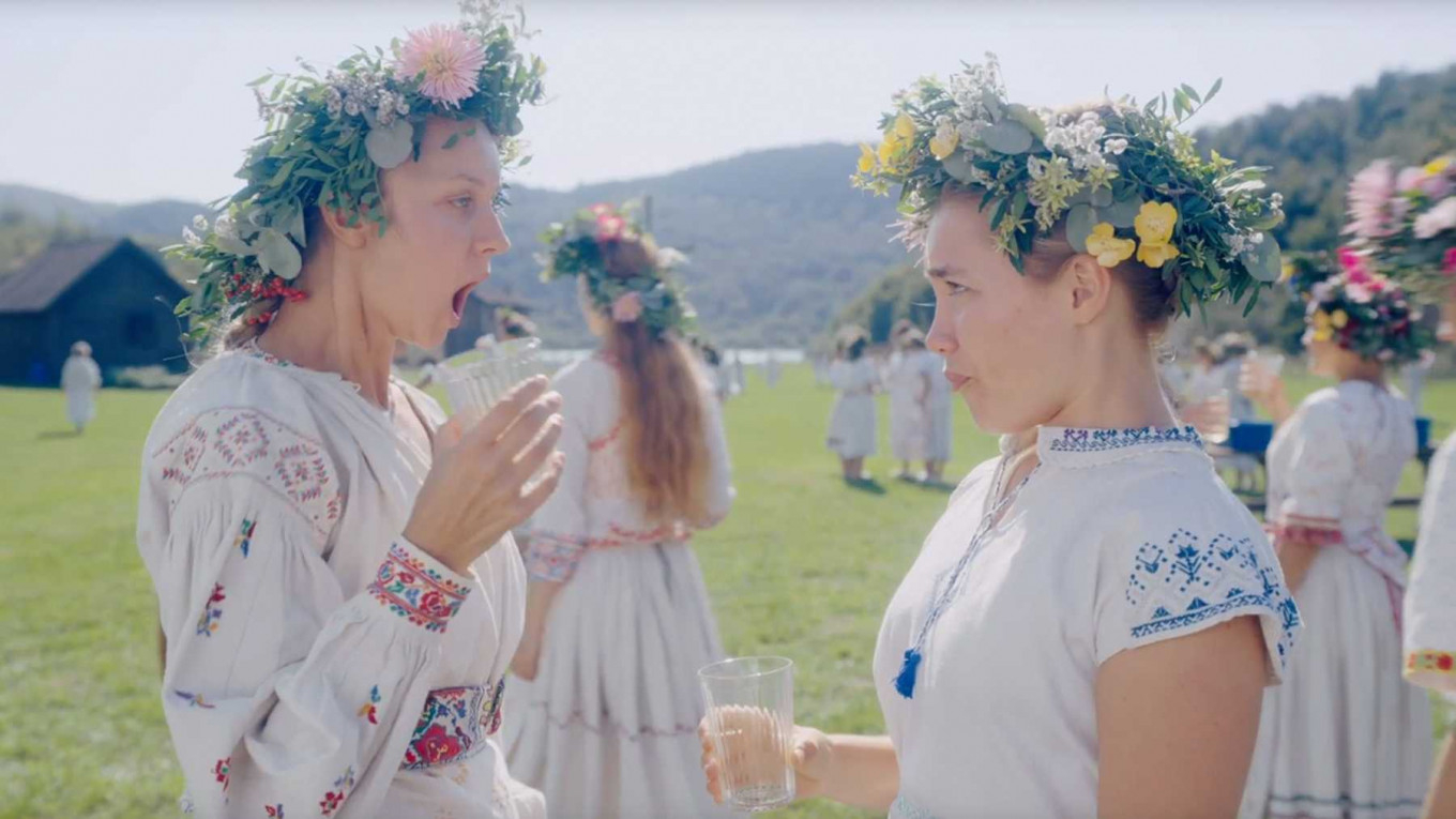 'Midsommar': Study of grief in psychedelic folk horror story