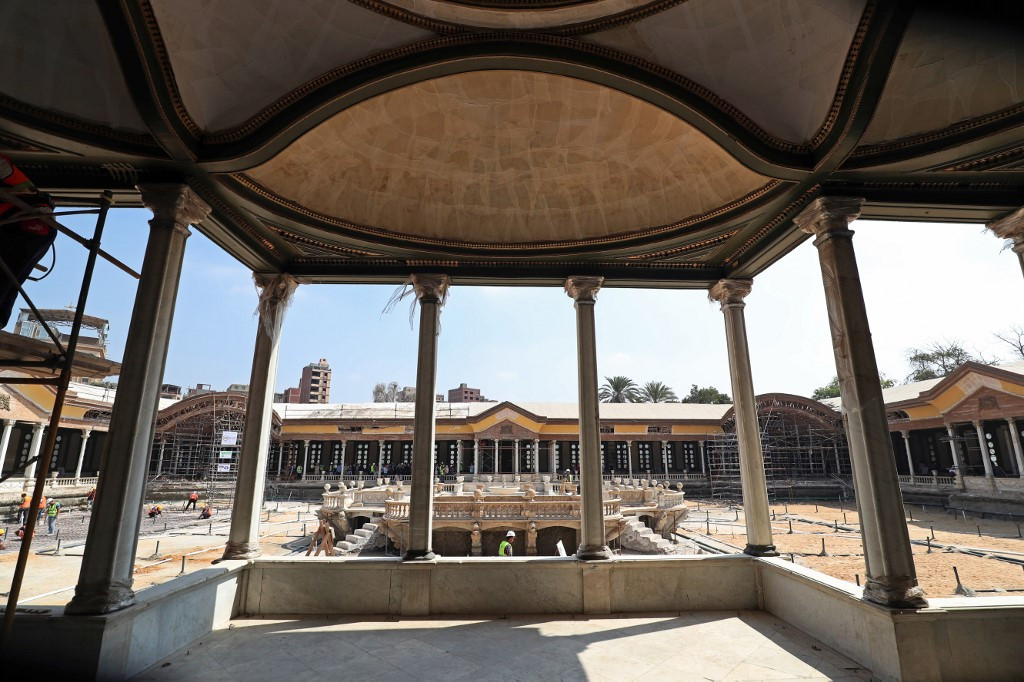 Palace of modern Egypt's 'founder' to return to former glory