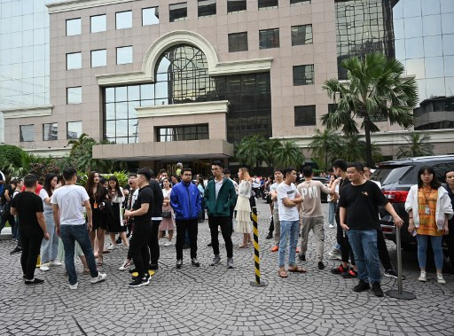 Philippine capital jolted by quake