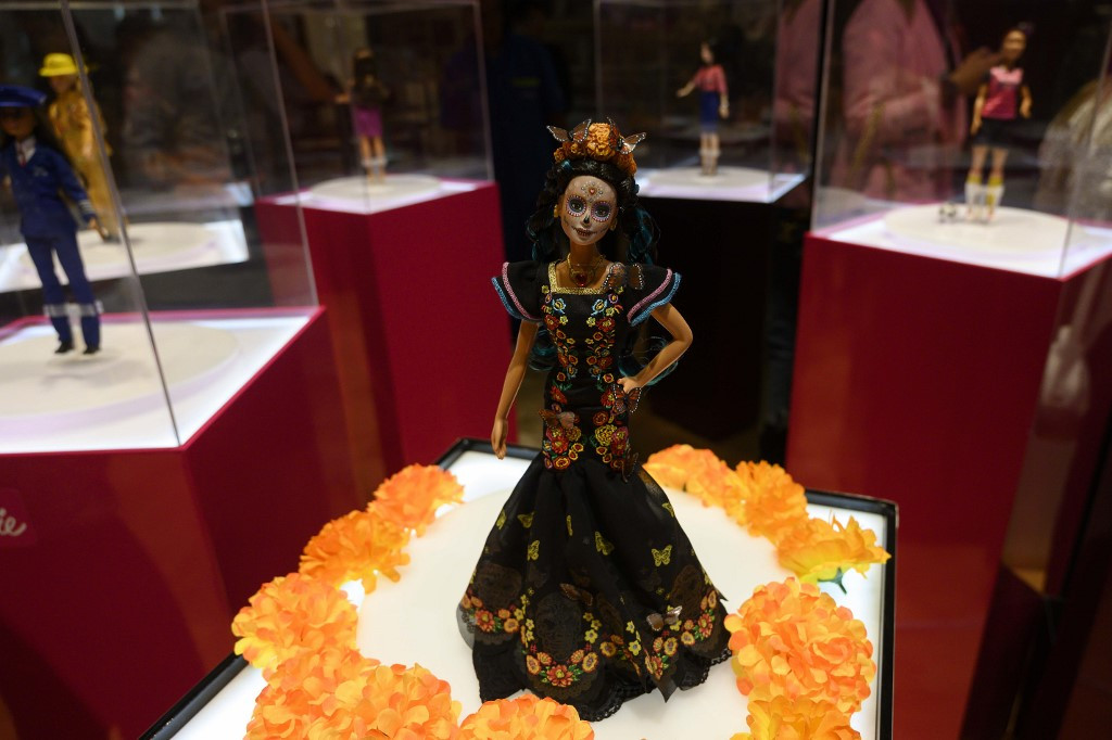 Barbie celebrates Day of the Dead, but not everyone is happy