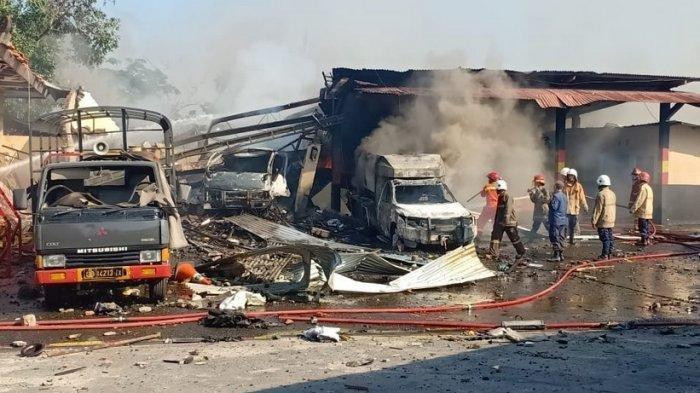 Blast at Central Java Police's explosives warehouse injures one