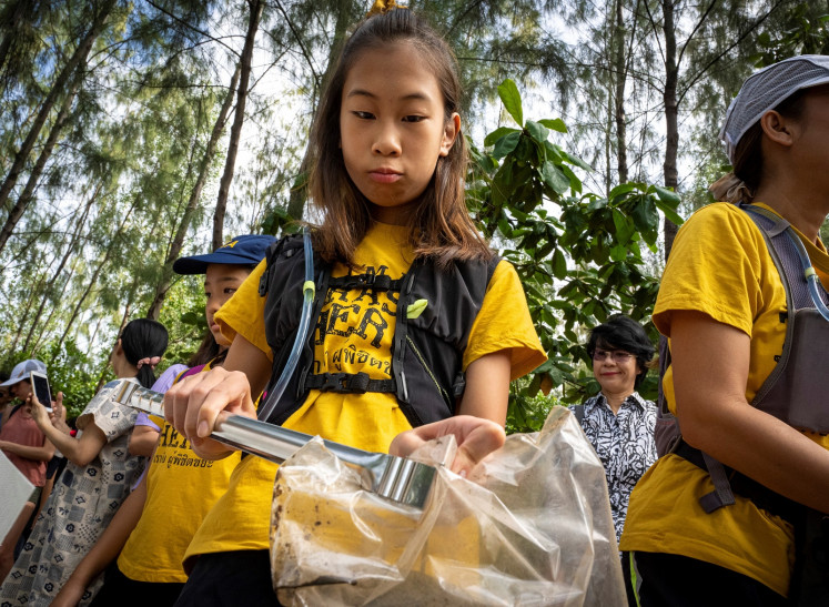 Lilly, Thailand's Greta Thunberg, wages 'war' on plastic