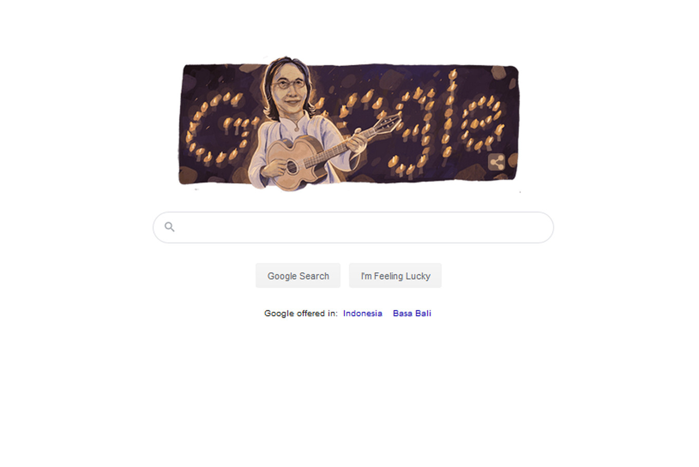 Google Doodle celebrates 70th birthday of late Indonesian music legend Chrisye