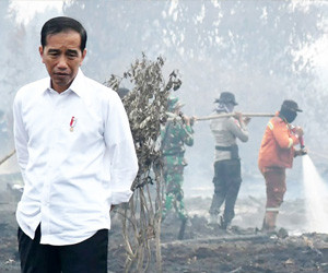 Residents flee Riau amid unbearable smog