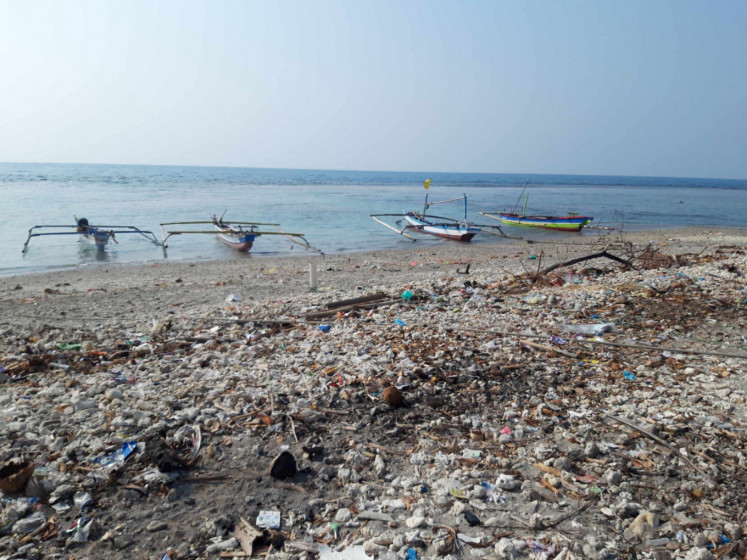 Still traumatized by tsunami, islanders protest mining activities on Sunda Strait