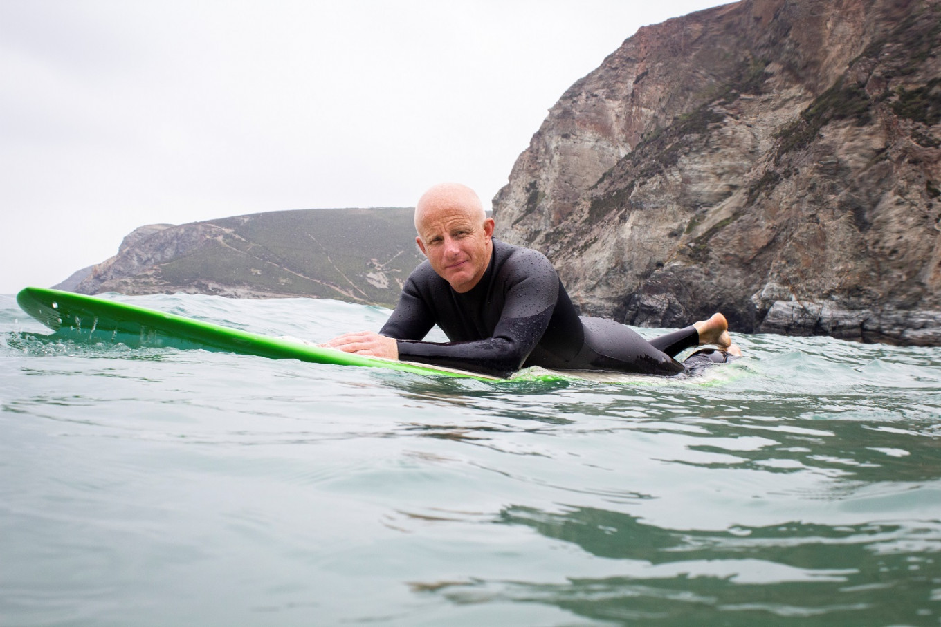 Surfing gets sustainable with first recyclable wetsuit
