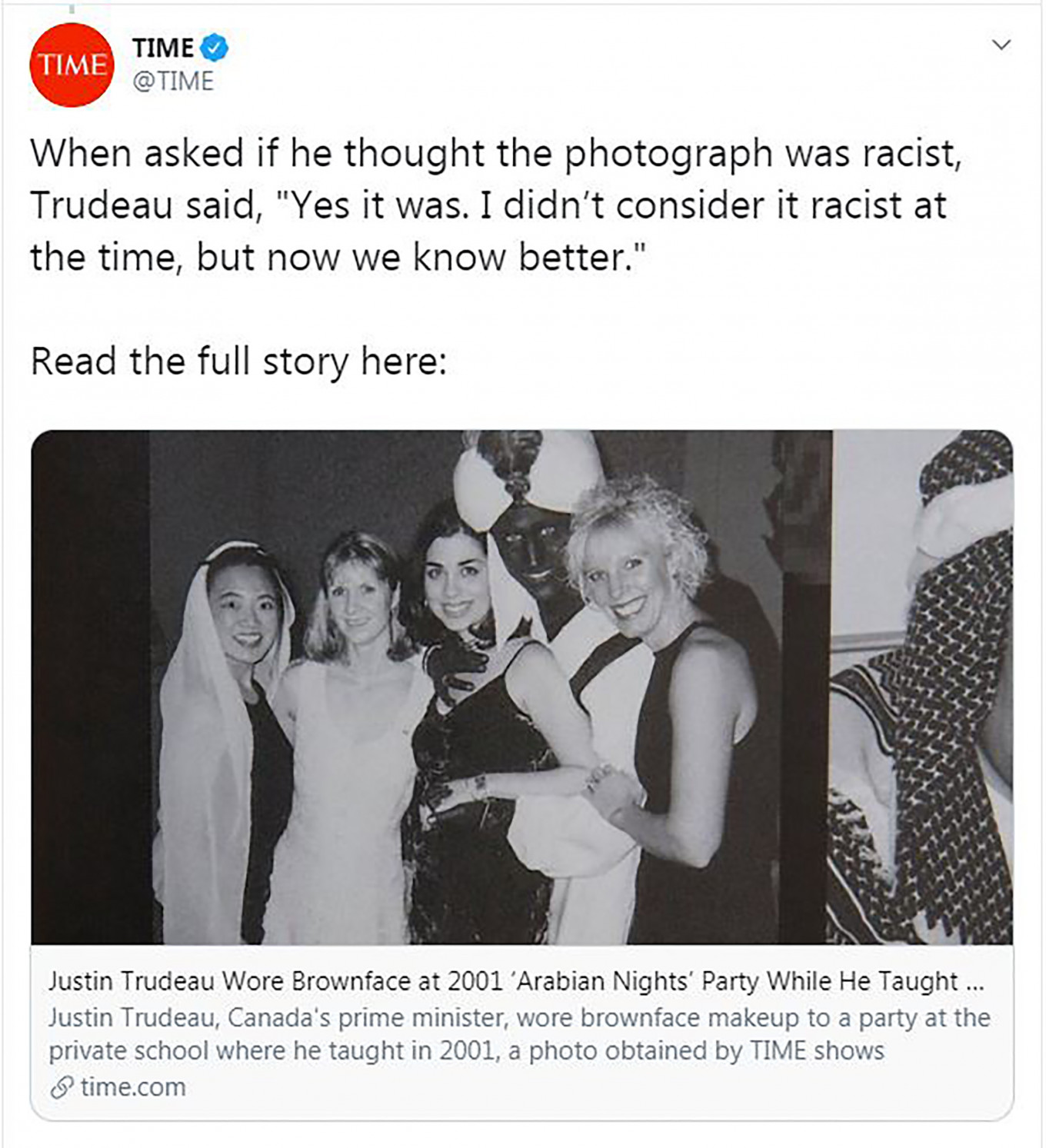 Trudeau apologizes again for wearing blackface as new images emerge