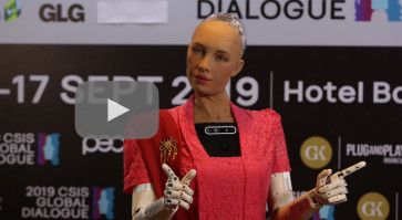 Meet Sophia, the humanoid robot who loves Bali