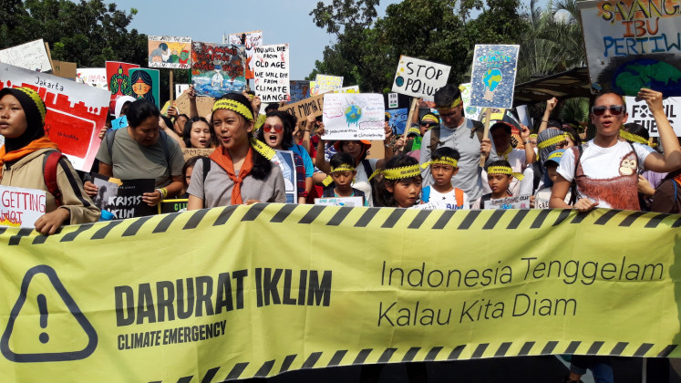 Indonesia finalizing new NDC, likely to keep old emissions cut target