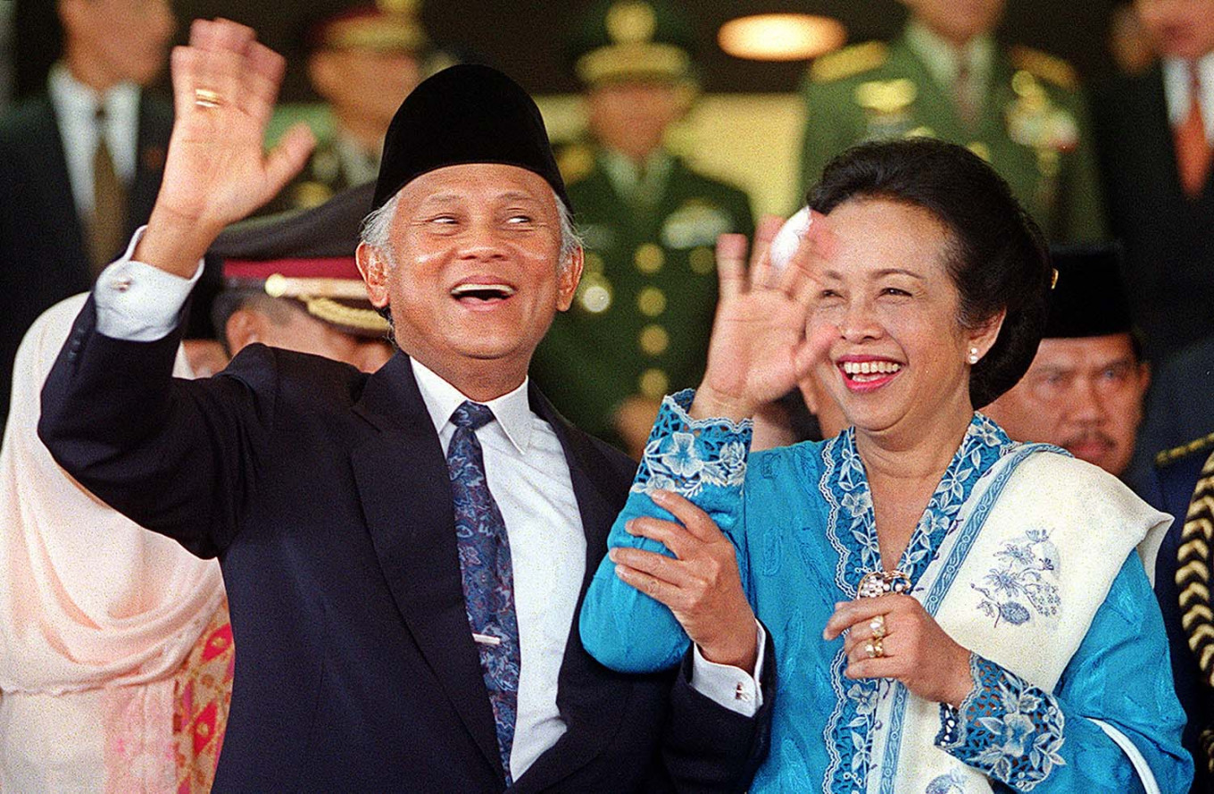 The kindness of BJ Habibie
